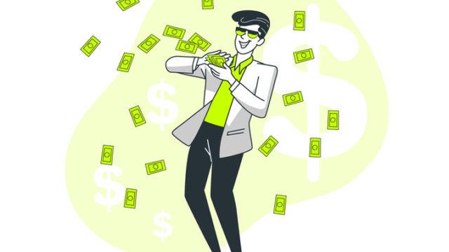 お金を無駄遣い
